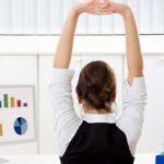 Быстрая зарядка для спины на рабочем месте