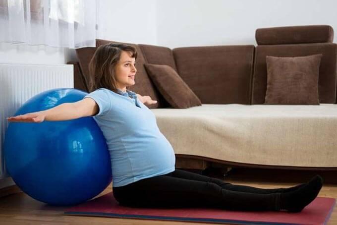 Упражнения для подготовки и облегчения родов