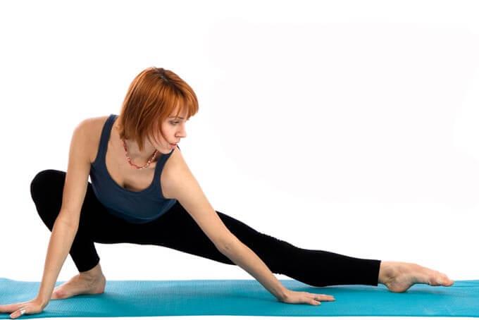 Растяжка уставших после тренировки мышц