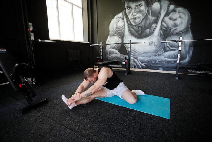 растяжка мышц после силовой тренировки