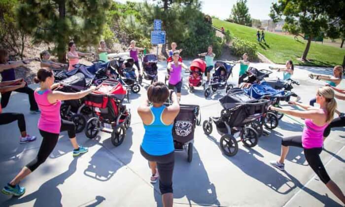 Фитнес с коляской