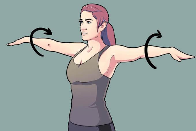 Круговое вращение рук