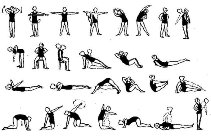 Упражнения для разминки