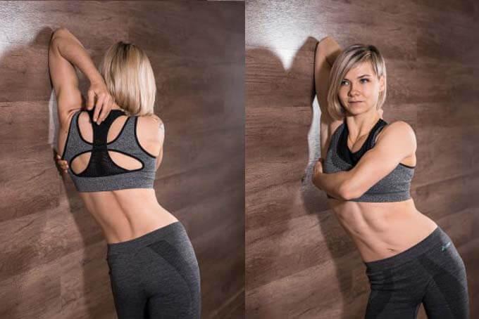 Растяжка трицепсов для идеальной формы мышц