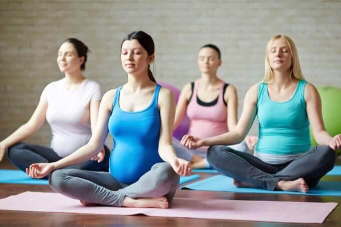 Дыхательная гимнастика для подготовки и облегчения родов